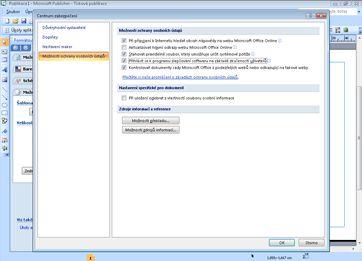 Ukázka: Složka Doručená pošta v aplikaci Outlook