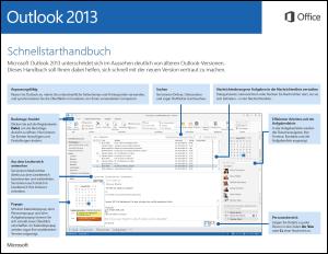 Outlook 2013 – Schnellstarthandbuch