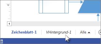 Registerkarte 'Hintergrund'