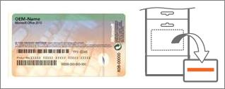 Echtheitszertifikat (Certificate of Authenticity, COA) und Karte