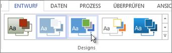 Anwenden eines Designs