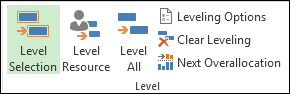 Level resources command