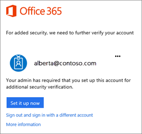 First sign in screen - What is an office 365 account ...