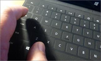 Use keyboard shortcuts to create a presentation