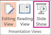 Click Slide Show
