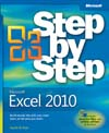 Cover of Microsoft Press Step by Step Excel 2010