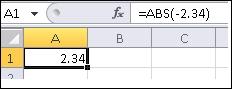 formula is shown in the formula bar