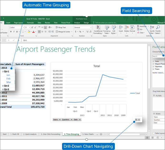 whats new in excel 2016 for windows excel