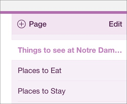 Move pages