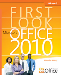 Front cover of First Look: Microsoft Office2010