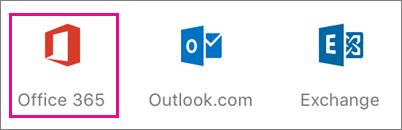 Add Office 365 account