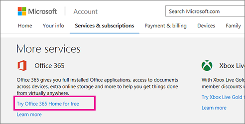 activating office without microsoft account