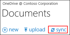 Syncing OneDrive for Business or a site library to your computer