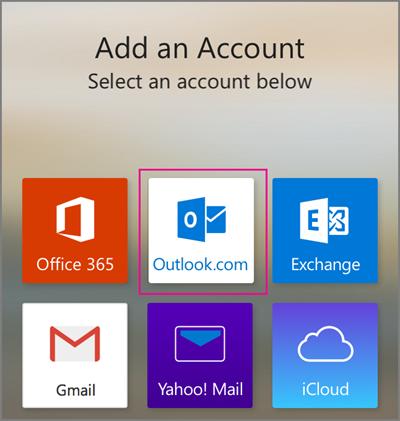 Select Outlook.com