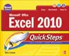 Cover of Microsoft Office Excel 2010 QuickSteps