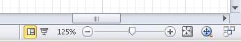 Desplazarse por un diagrama con las herramientas de la barra de estado