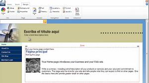 Sitio web público original en Office 365