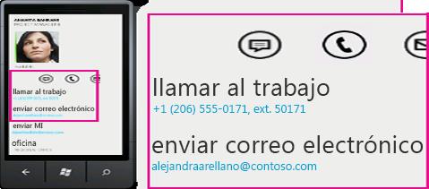 Lync para clientes móviles