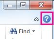 Haga clic en el símbolo de interrogación para abrir la Ayuda de Office.