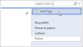 Agregue más páginas para los blocs de notas.