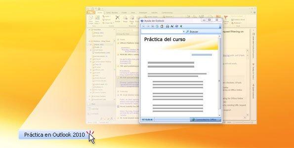 Práctica de Outlook 2010