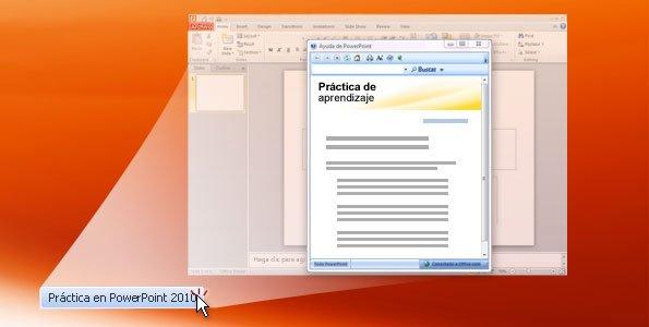 Práctica de PowerPoint 2010