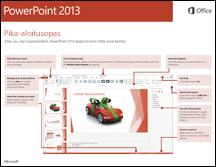 PowerPoint 2013 -pikaopas