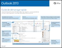 Guide de démarrage rapide d'Outlook2013