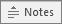 Bouton Notes dans PowerPoint