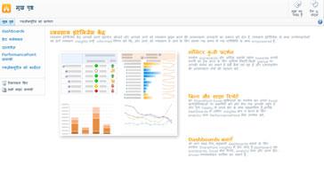 व्यावसायिक इंटेलिजेंस केंद्र, SharePoint Server 2010 में एक साइट