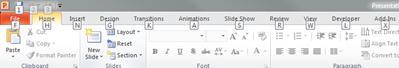 फ़ाइल टैब पर कुंजीपटल शॉर्टकट्स कुंजियाँ