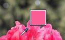 Pokazivač alata za uzorkovanje boja kapaljkom i usklađena boja
