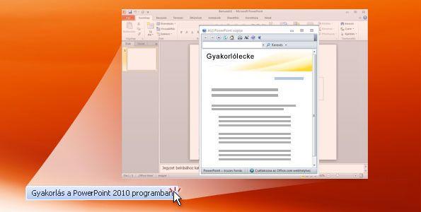 PowerPoint 2010 – gyakorlás