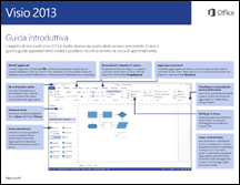 Guida introduttiva di Visio 2013