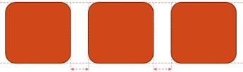 Impostare l'allineamento e la spaziatura uniformi per gli oggetti