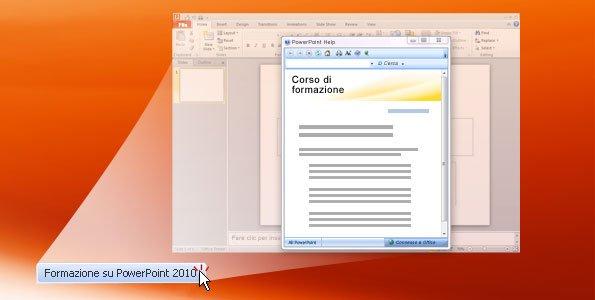 Esercitazione in PowerPoint 2010