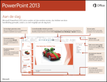 Handleiding Snel aan de slag voor PowerPoint 2013