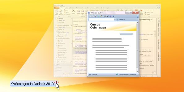 Outlook 2010-oefening
