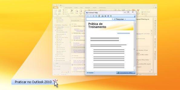 Prática do Outlook 2010