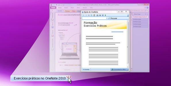 Exercícios Práticos no OneNote 2010