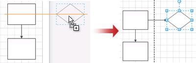 A página expande automaticamente quando larga uma forma