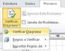 Botão Verificar Diagrama