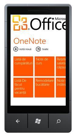 Hubul OneNote Mobile 2010
