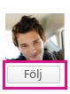 Skärmbild på Yammer med knappen Follow (Följ) markerad