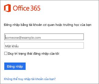trang đăng nhập portal.office.com