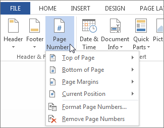 word how to have numbering continue on the next page