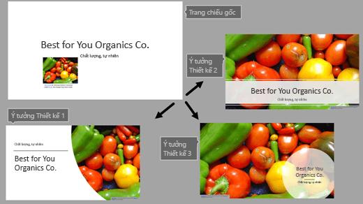 PowerPoint Designer nhấn mạnh thông điệp mà danh sách đơn giản này gửi gắm